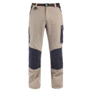 Pantaloni KAPRIOL Teneré Beige/Blu