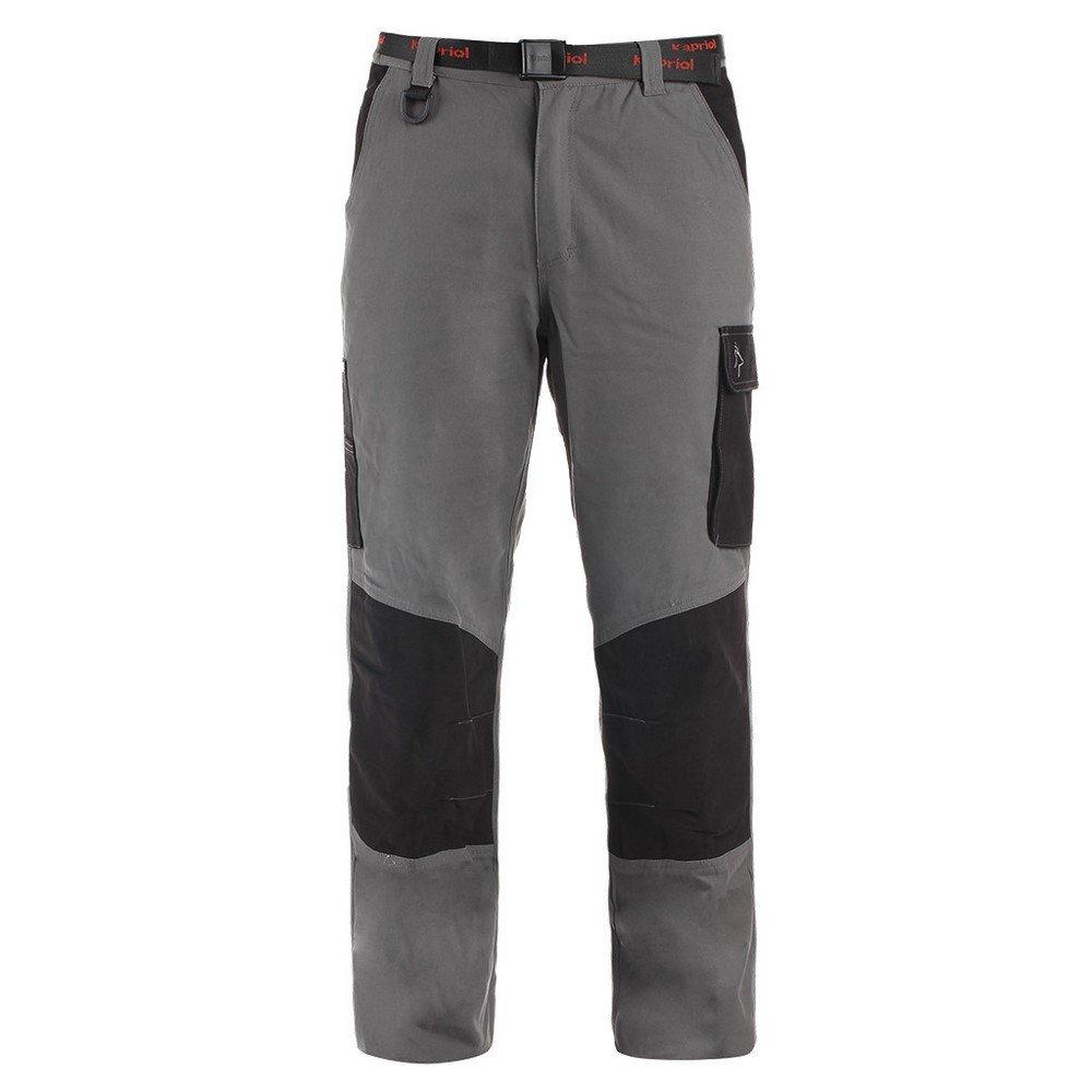 Pantaloni KAPRIOL Teneré Grigio/Nero