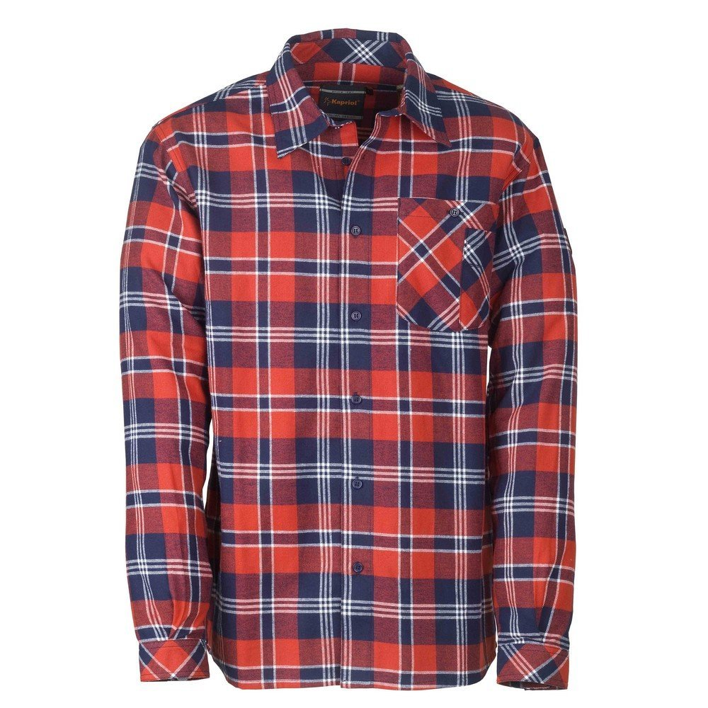 Camicia scozzese KAPRIOL Redwood Rossa