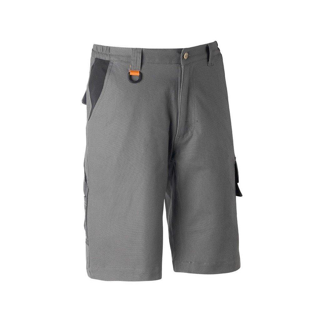 Pantaloncini da lavoro KAPRIOL Tenere Pro Grigio/Nero