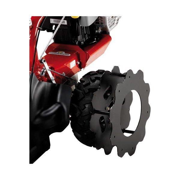 Coppia ruote in ferro EUROSYSTEMS per P70 EVO