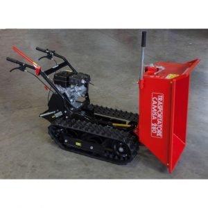 Motocarriola cingolata CAMISA TP 280 RI 400kg cassone edile