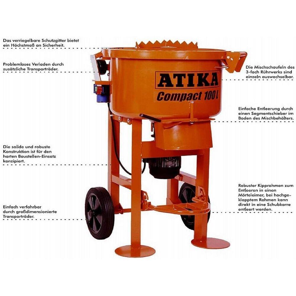 Miscelatore verticale ATIKA Compact 100L