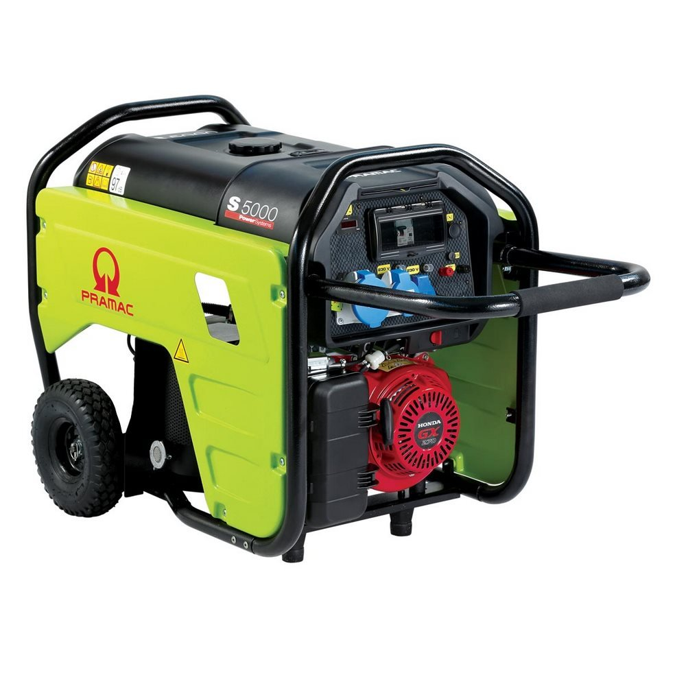 Generatore PRAMAC S5000 230V / 3.9 kW E-Start