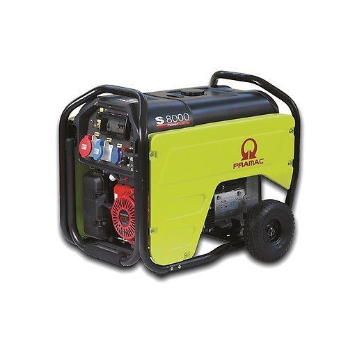 Generatore PRAMAC S8000 400V/230V / 7/3.7 kVA E-Start