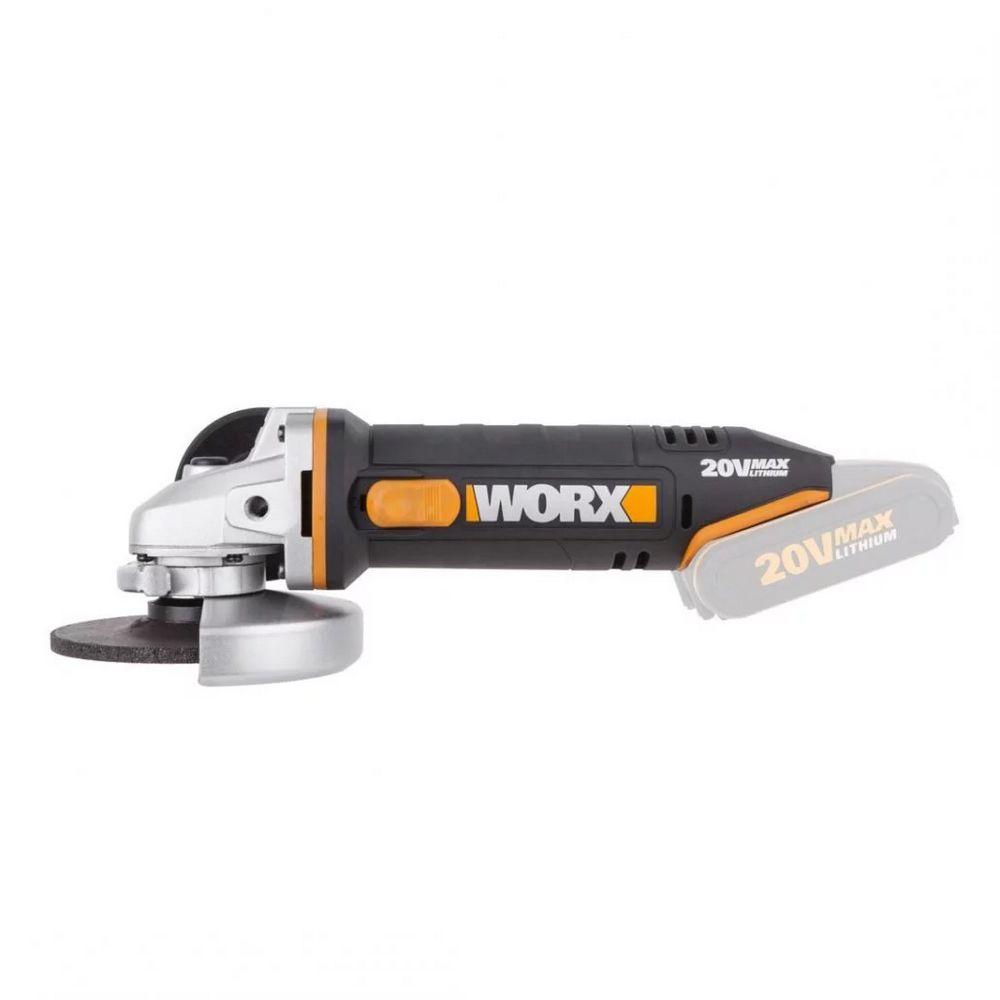 Smerigliatrice angolare a batteria WORX WX800.9 20V
